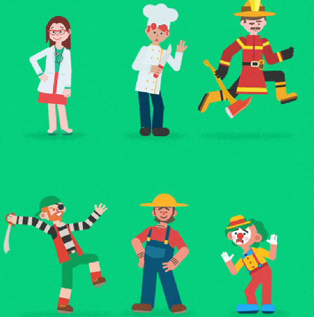 Videohive Design and Motion Character Kit center