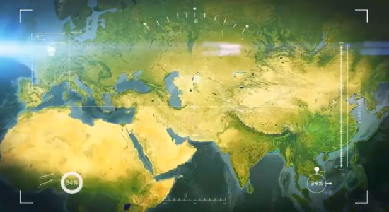 Videohive Earth Zoom center