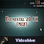 Videohive Elemental 2D FX logo