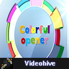 Videohive Kids Colorful Opener logo