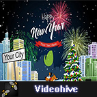 Videohive New Year logo