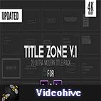Videohive Title Zone V.1 logo
