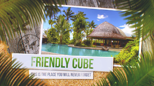 Videohive Tropical Journey Slideshow center