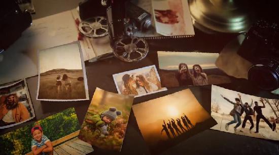 Videohive Vintage Lovely Memories center