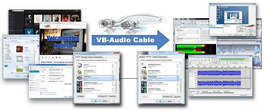 Virtual Audio Cable center