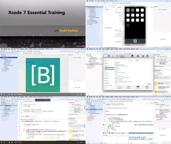 Xcode 7 Essential Training center