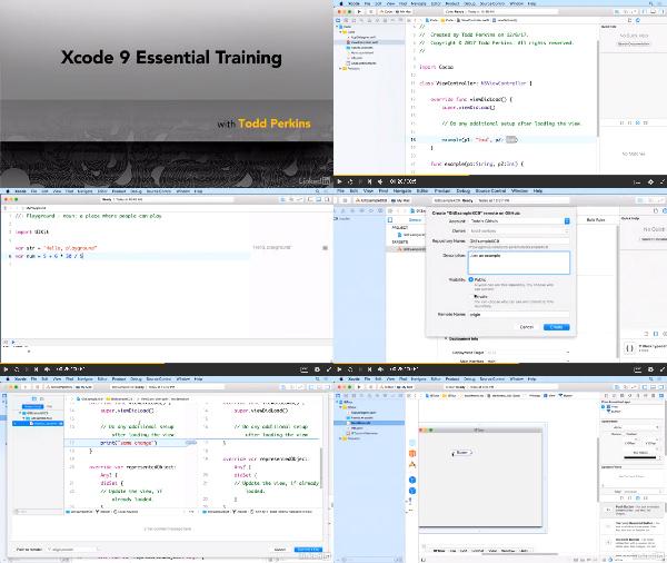 Xcode 9 Essential Training center