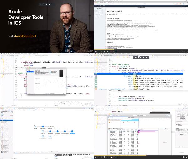 Xcode Developer Tools in iOS center
