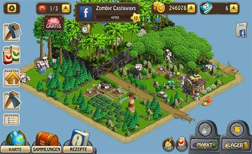 دانلود بازی Zombie Castaways v2.18 برای اندروید و iOS + مود