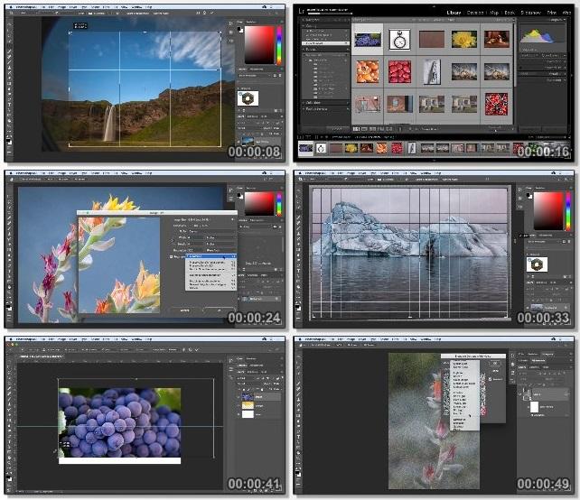 دانلود فیلم آموزشی Photoshop CC 2018 Essential Training: The Basics از Lynda