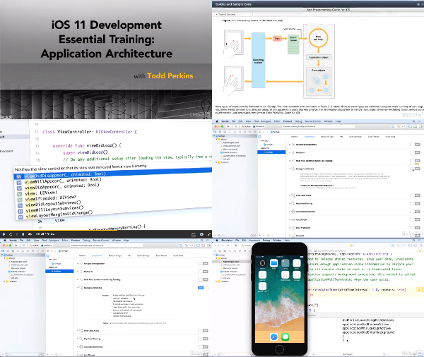 iOS 11 Development Essential Training: Application Architecture center