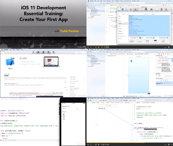 iOS 11 Development Essential Training: Create Your First App center