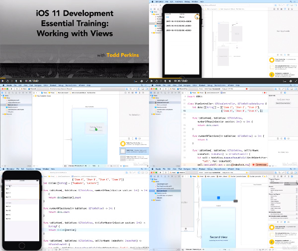 iOS 11 Development Essential Training: Working with Views center