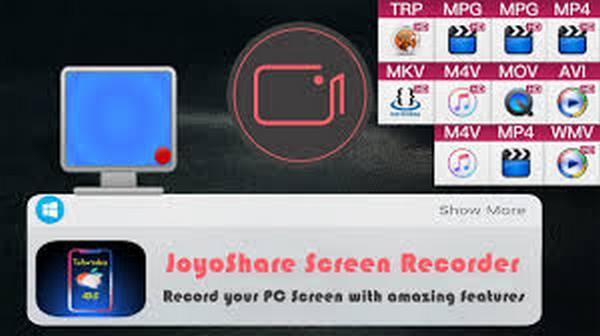 joyoshare screen recorder center