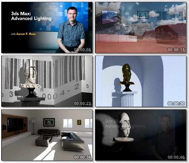 دانلود فیلم آموزشی 3ds Max Advanced Lighting از Lynda