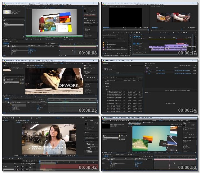 دانلود فیلم آموزشی After Effects CC 2017 Essential Training Editors and Post