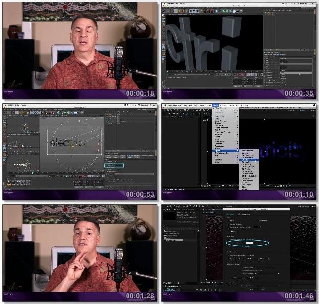 دانلود فیلم آموزشی After Effects Apprentice: 18 3D Text Cinema 4D Lite از Lynda