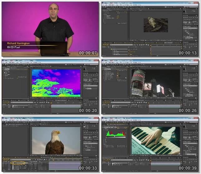 دانلود فیلم آموزشی After Effects Guru: Color Grading Footage از Lynda
