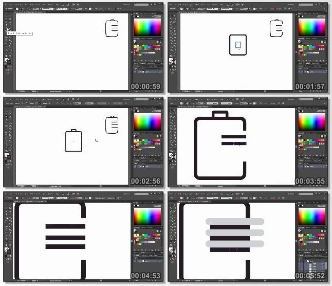 دانلود فیلم آموزشی Crafting a Visual Identity in Illustrator CC