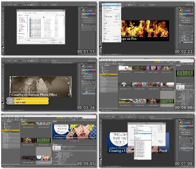 دانلود فیلم آموزشی Introducing Photoshop: Design از Lynda