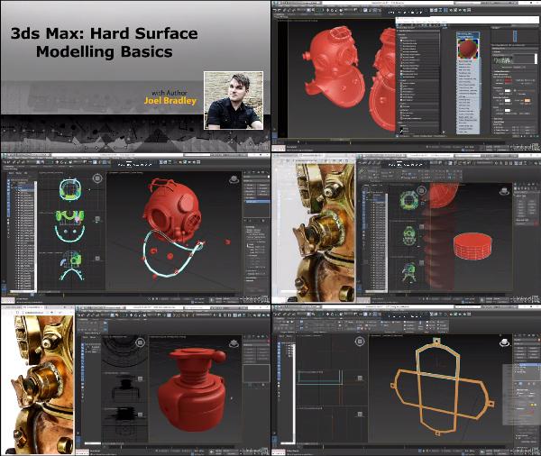 3ds Max: Hard Surface Modeling Basics center