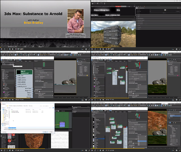 3ds Max: Substance to Arnold center