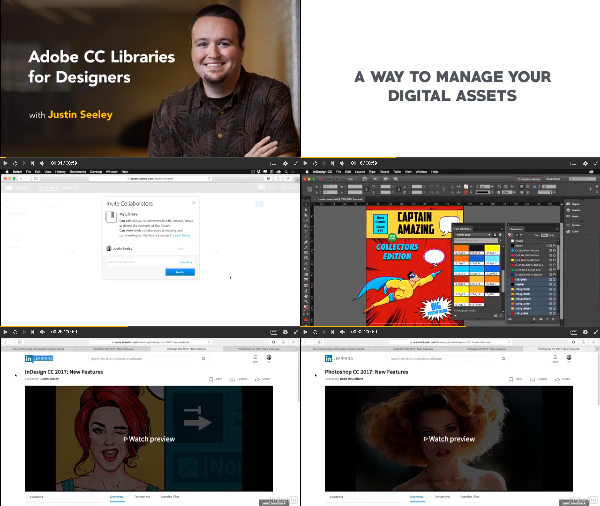 Adobe CC Libraries for Designers center