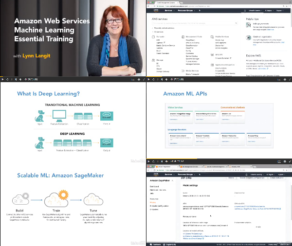 Amazon Web Services Machine Learning Essential Training center