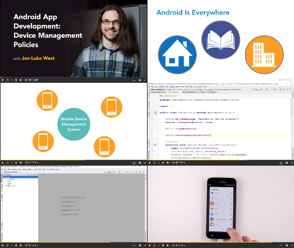 Android App Development: Enterprise Integration center