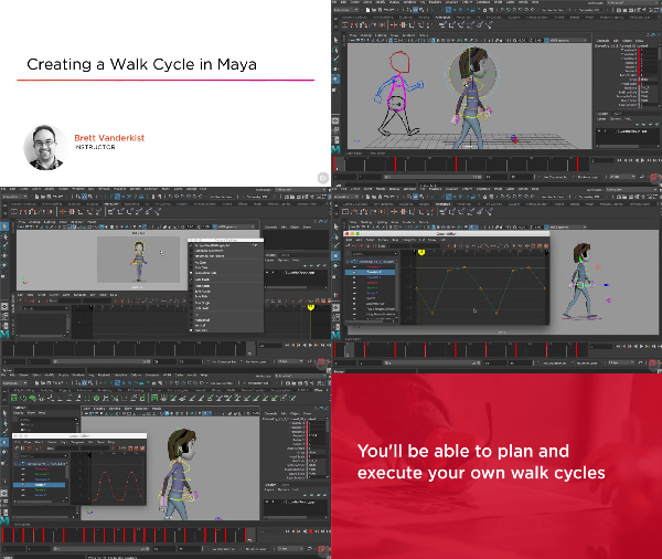 Animating a Walk Cycle in Maya center