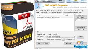 Any PDF to DWG Converter center.