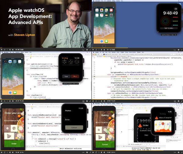 Apple watchOS App Development: Advanced APIs center