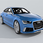 Audi RS7 Sportback Performance 2016 logo