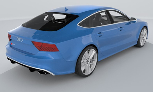 Audi RS7 Sportback Performance 2016 center