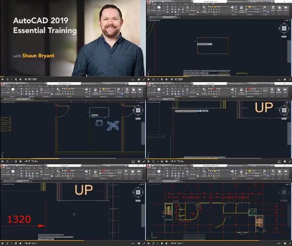 AutoCAD 2019 Essential Training center