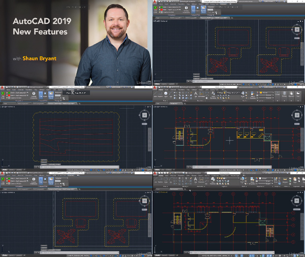 AutoCAD 2019 New Features center