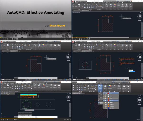 AutoCAD: Effective Annotating center
