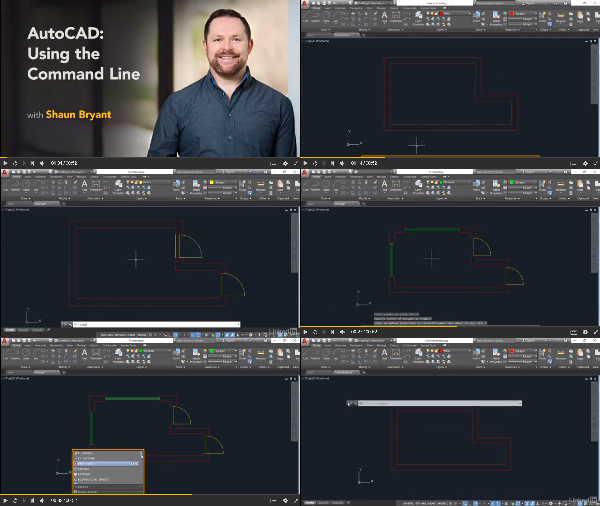 AutoCAD: Using the Command Line center