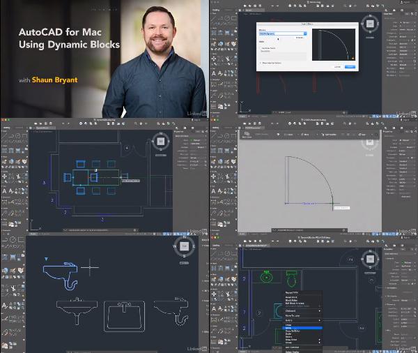 AutoCAD for Mac: Using Dynamic Blocks center