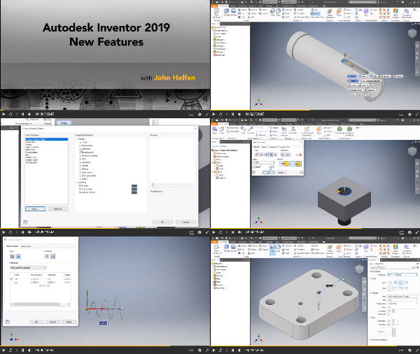 Autodesk Inventor 2019 New Features center