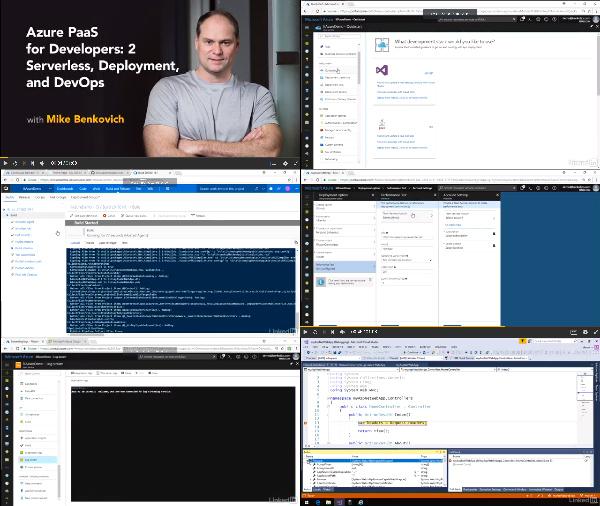 Azure Enterprise Development: 2 Application Services center