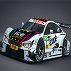 BMW M4 DTM 2015 Race Car logo