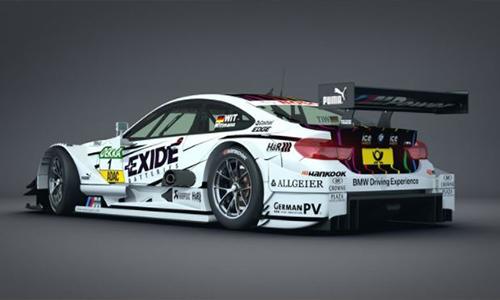BMW M4 DTM 2015 Race Car center