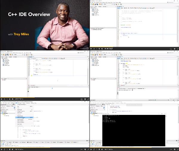 C++ IDE Overview center