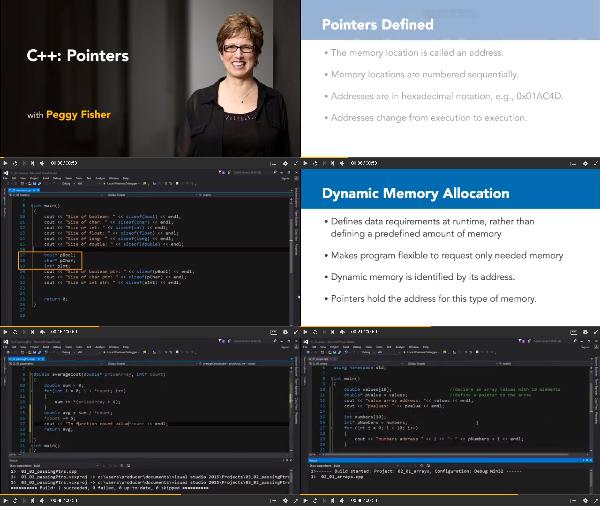 C++: Pointers center