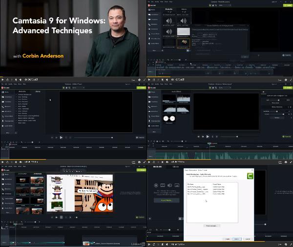 Camtasia 9 for Windows: Advanced Techniques center