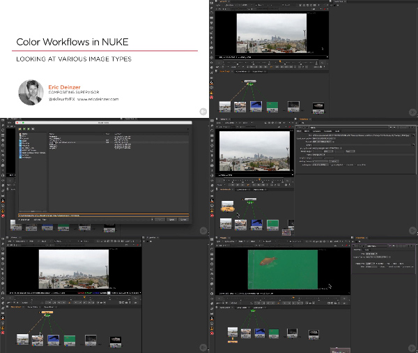 Color Workflows in NUKE center