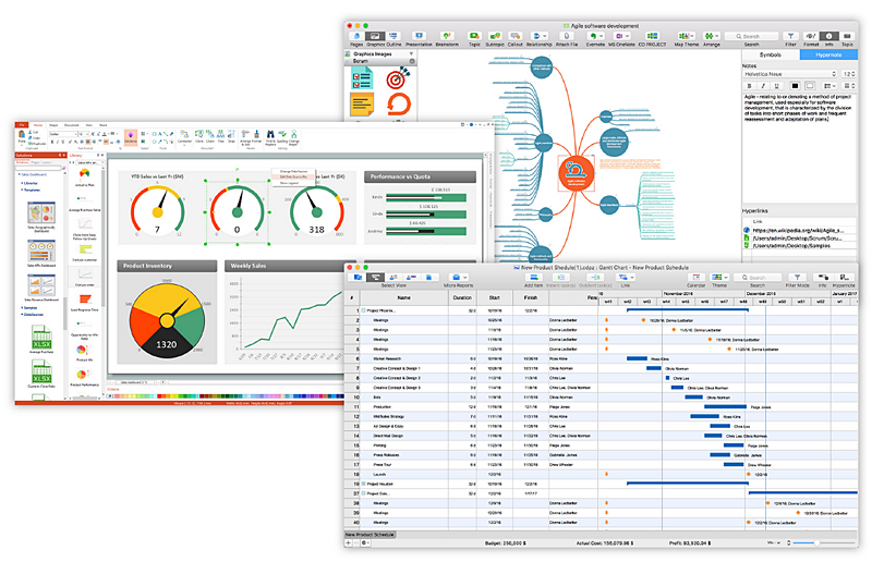ConceptDraw Office Pro center