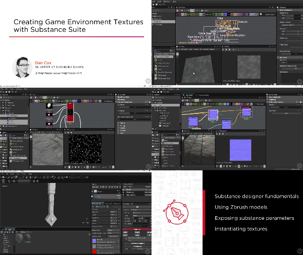 Creating Game Environment Textures with Substance Suite center