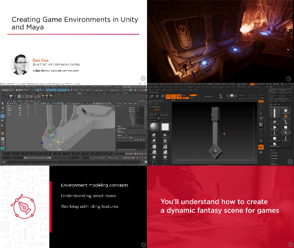 Creating Game Environments in Unity and Maya center